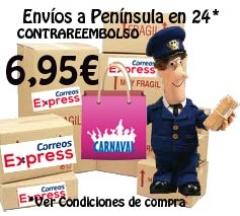 Portes Contrareembolso en 24h desde 6.95€ *