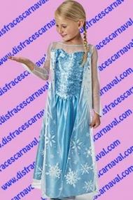 disfraz Elsa Frozzen con capa Disney