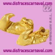 babuchas oro adulto