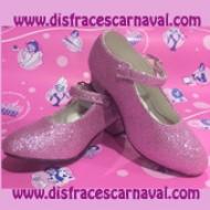 zapatos princesa rosa