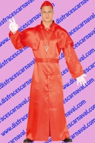 disfraz cardenal