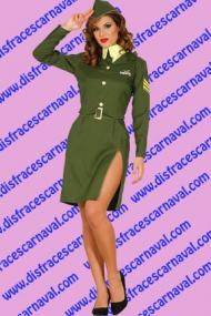 chica soldado Pin Up