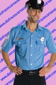 camisa y gorra de policia