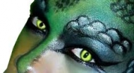 lentillas reptil