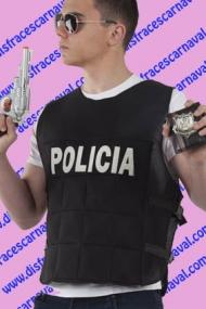 chaleco policia antibalas