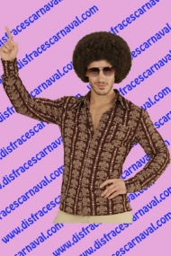 Camisa Marron 70s