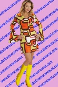 vestido chica 70-80s