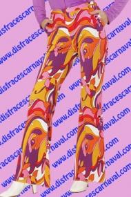 pantalon campana mujer