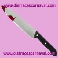 cuchillo halloween