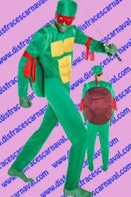 disfraz tortuga ninja adulto
