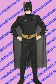 disfraz batman musculosos niño