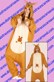 disfraz animal canguro pijama