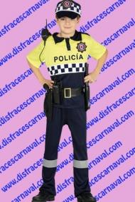 disfraz Policia urbano