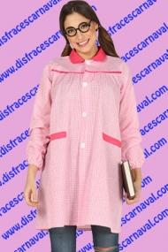 baby rosa disfraz colegiala