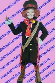 disfraz halloween sombrerero loco niño