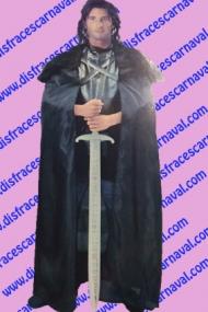 disfraz Juego de tronos vigilante jonh nieve