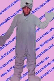 disfraz oso polar