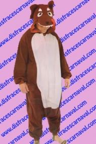 disfraz lobo pijama