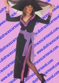 disfraz viuda negra