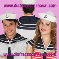 cuello y gorro marinero