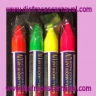 maquillaje fluor UV