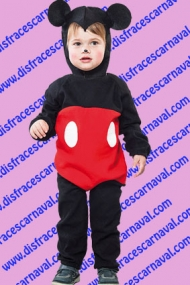 disfraz raton mickey bebe