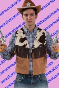 Chaleco vaquero hombre