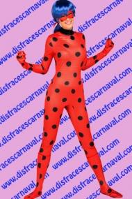 disfraz ladybug adulto