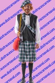 disfraz escoces