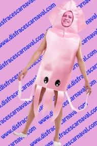 disfraz calamar