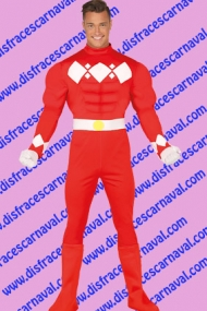 disfraz power ranger