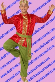 disfraz hindu bollywood niño