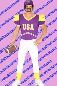 disfraz jugador futbol americano