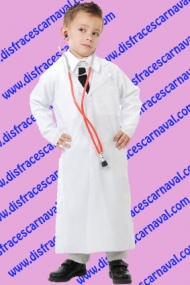 bata de medico niño
