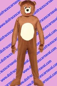 disfraz Oso Pardo Mascota