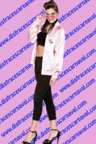 Disfraz chica pink lady grease