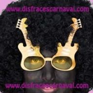gafas con forma de guitarra