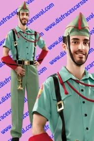 disfraz legionario