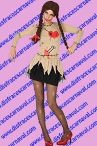 disfraz muñeca wudu