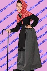 disfraz abuela