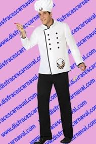 disfraz cocinero