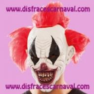 mascara payaso diabolico