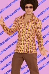 camisa hombre 70s