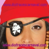 parche pirata tela