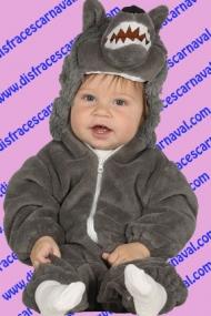 disfraz lobo bebe