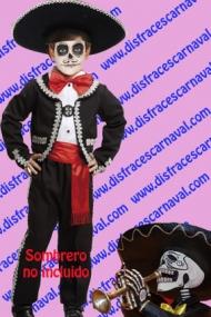 disfraz mariachi mejicano niño coco
