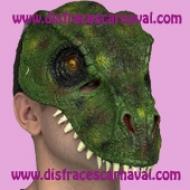 mascara dinosaurio