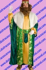 disfraz rey mago cabalgata