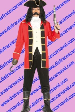 disfraz capitan garfio pirata