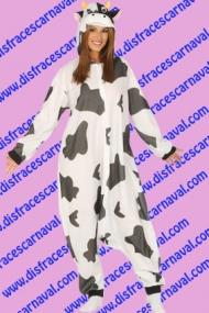 disfraz vaca pijama